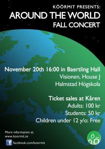 Around The World Fall Concert November 20th